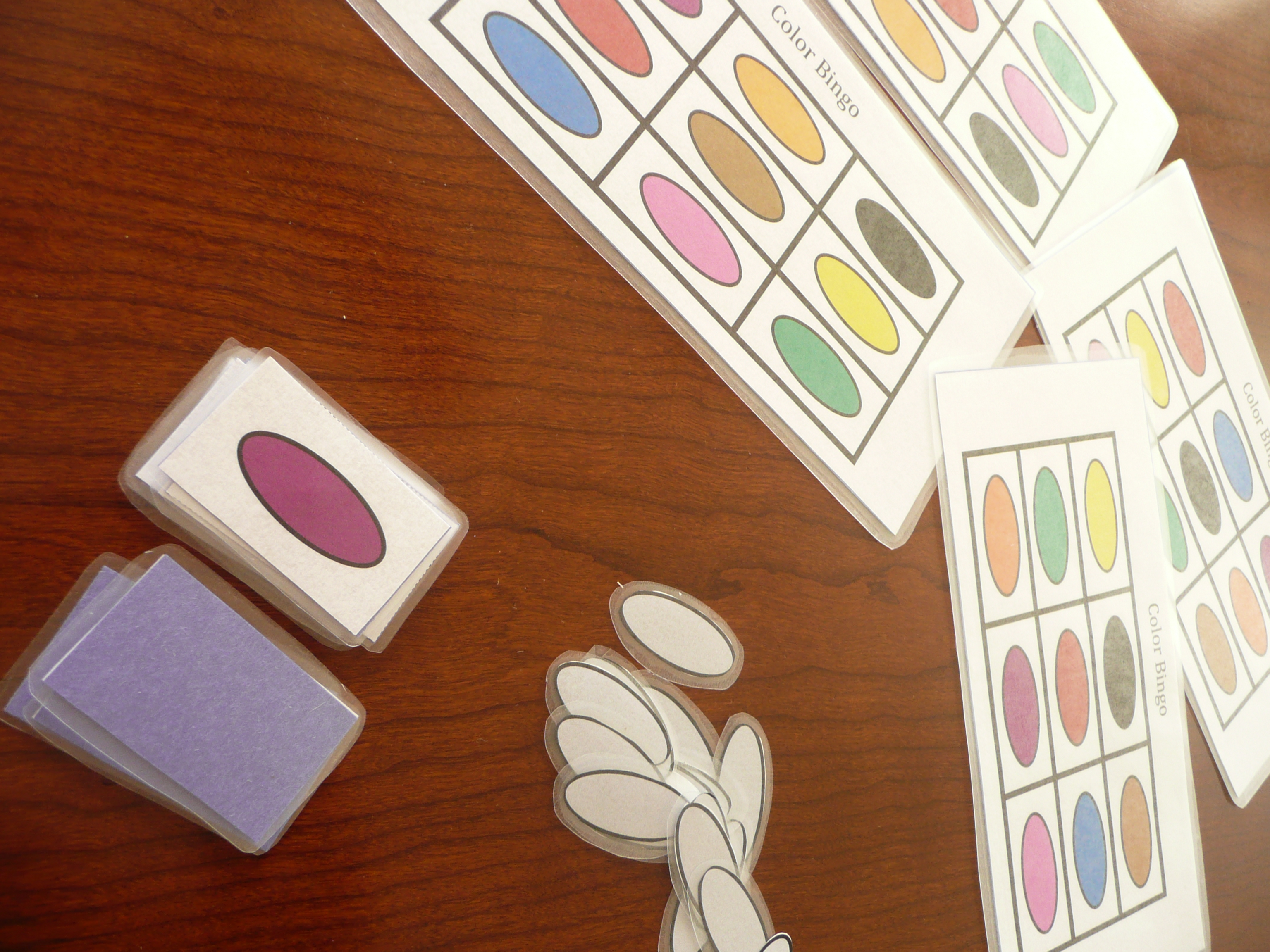 make your own COLOR BINGO game| CMP